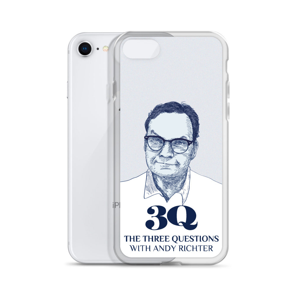 The Three Questions with Andy Richter: iPhone Case