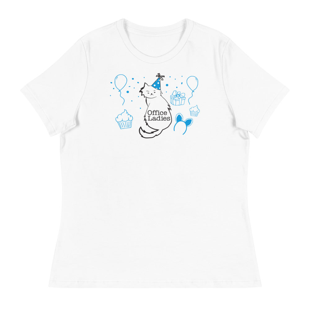 Office Ladies: Womens Relaxed Sprinkles T-Shirt