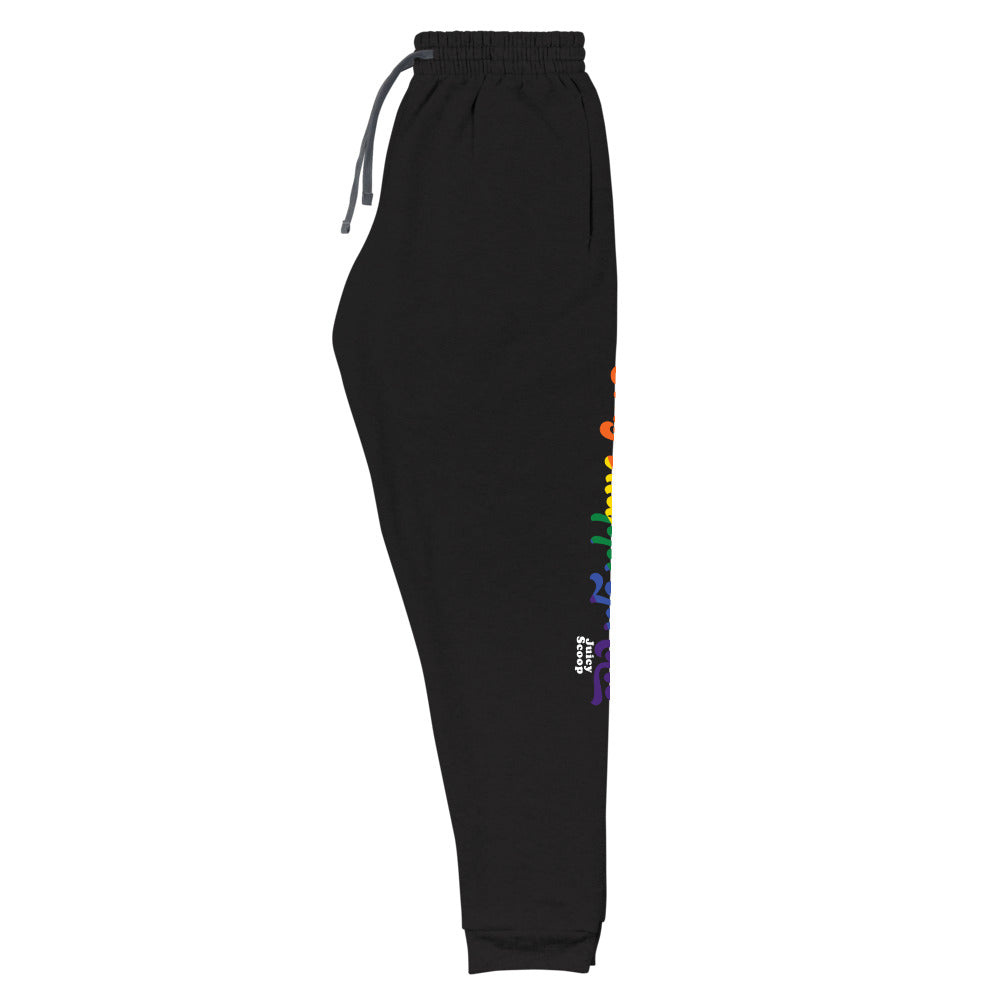 Juicy Scoop: Rainbow Unisex Joggers