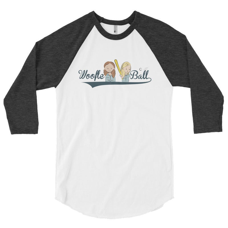 Office Ladies: Woofle Ball Raglan