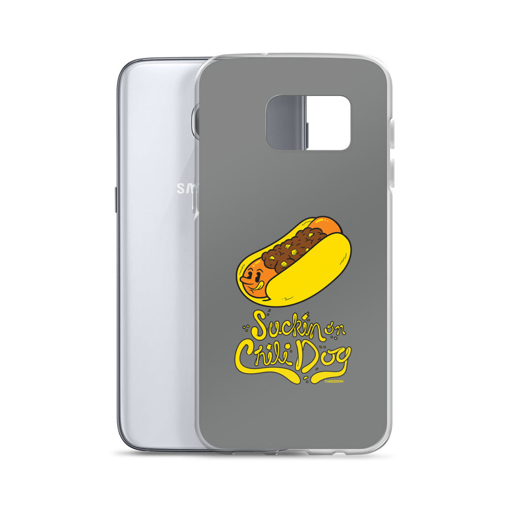 Threedom: Sucking on Chili Dog Samsung Case