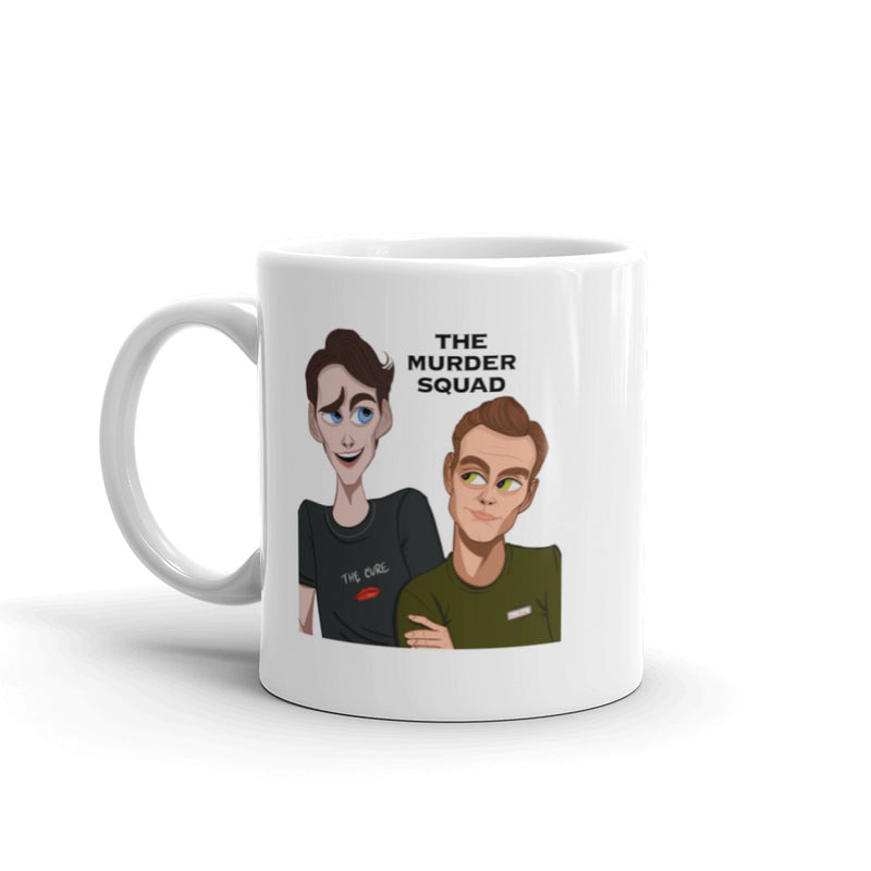 Jensen & Holes: The Murder Squad Raised Brow Mug