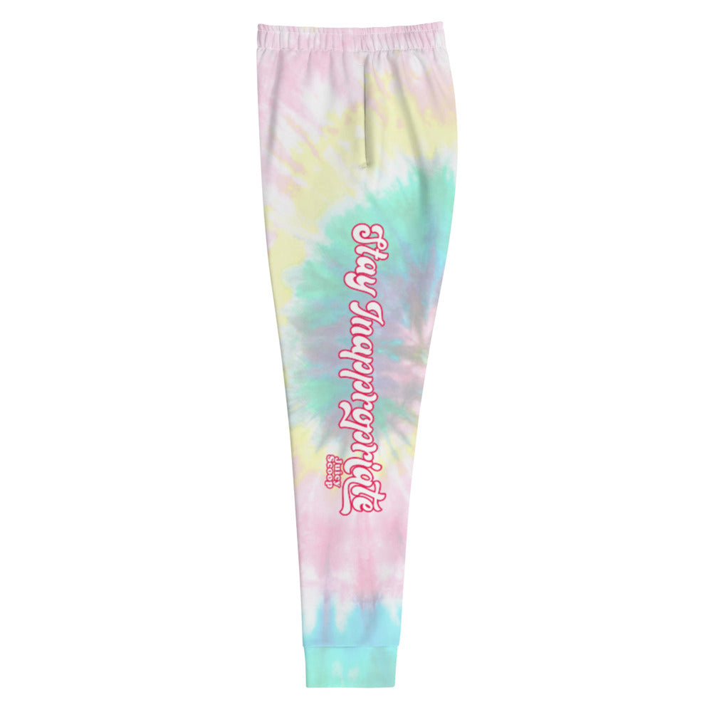 Juicy Scoop: Tie Dye Women's Joggers