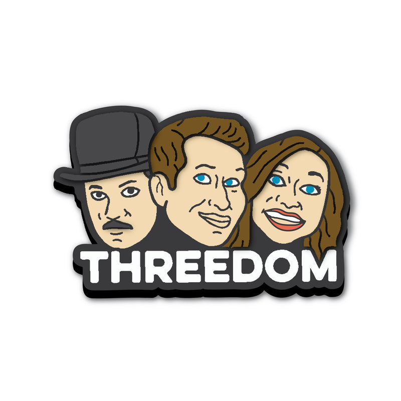 Threedom: Heads Shoe Charm