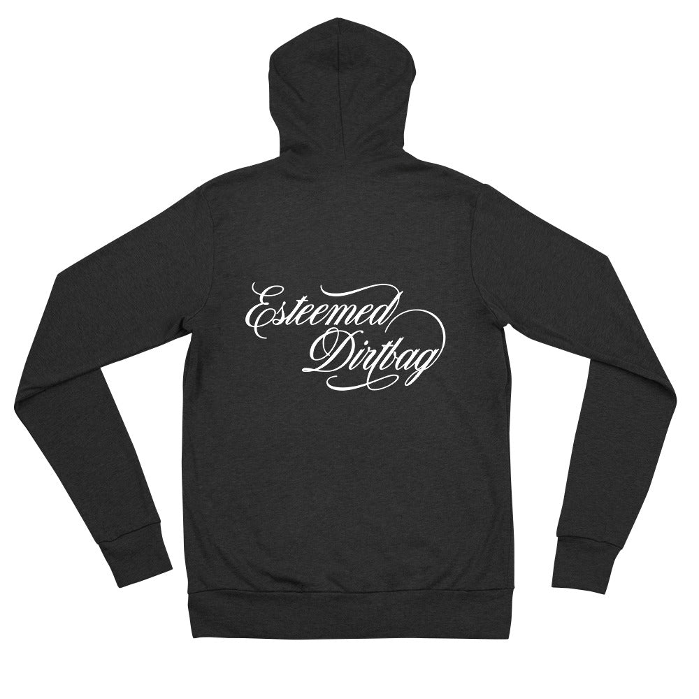 I Saw What You Did: Unisex Zip Hoodie