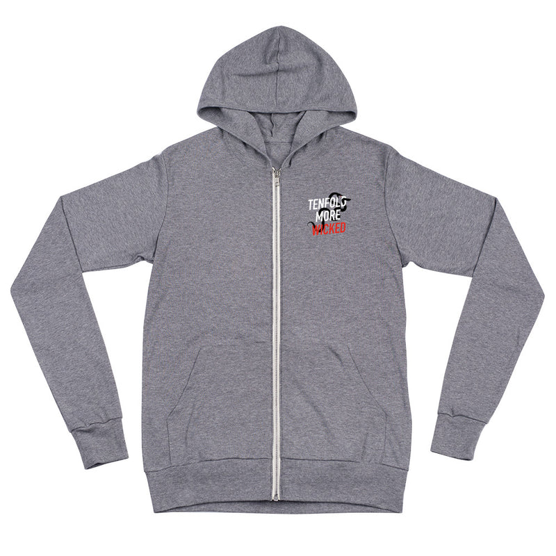 Tenfold More Wicked: Zip Hoodie