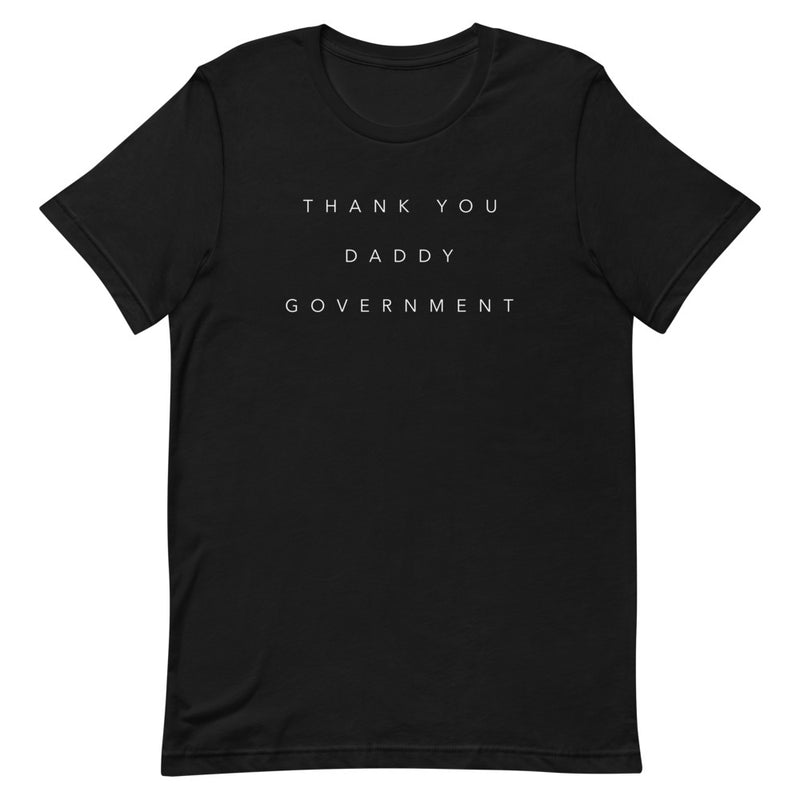 Scam Goddess: Thank You T-shirt (Black)