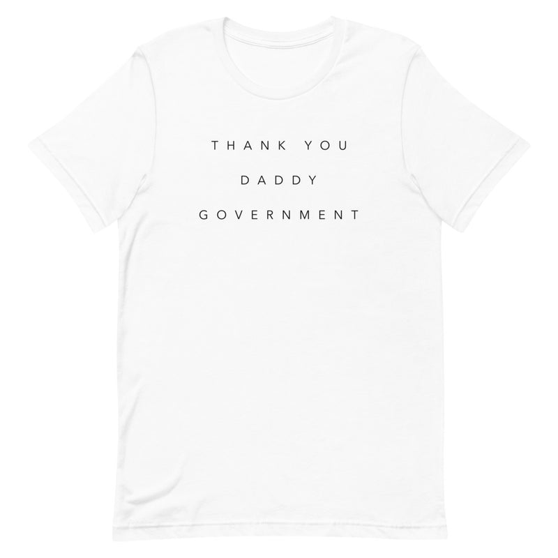 Scam Goddess: Thank You T-shirt (White)