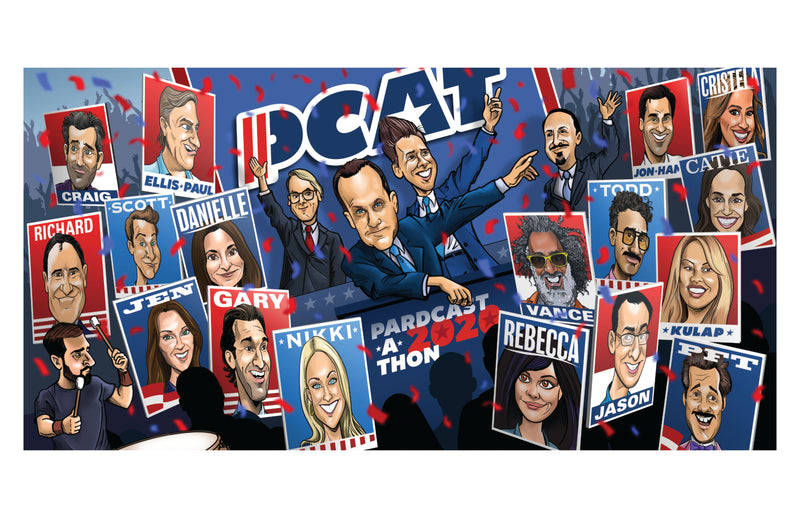 Never Not Funny: PCAT 2020 Poster