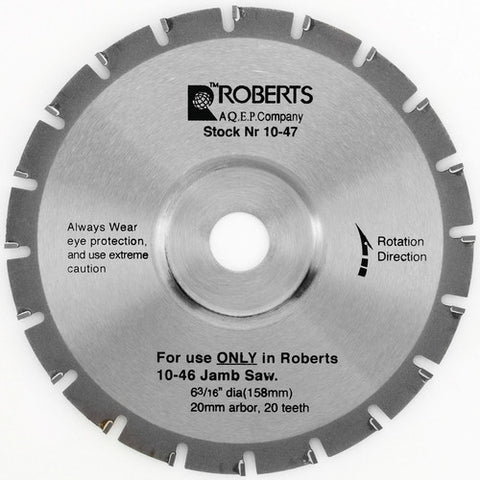 6 in Blade | Roberts | WJ Grosvenor