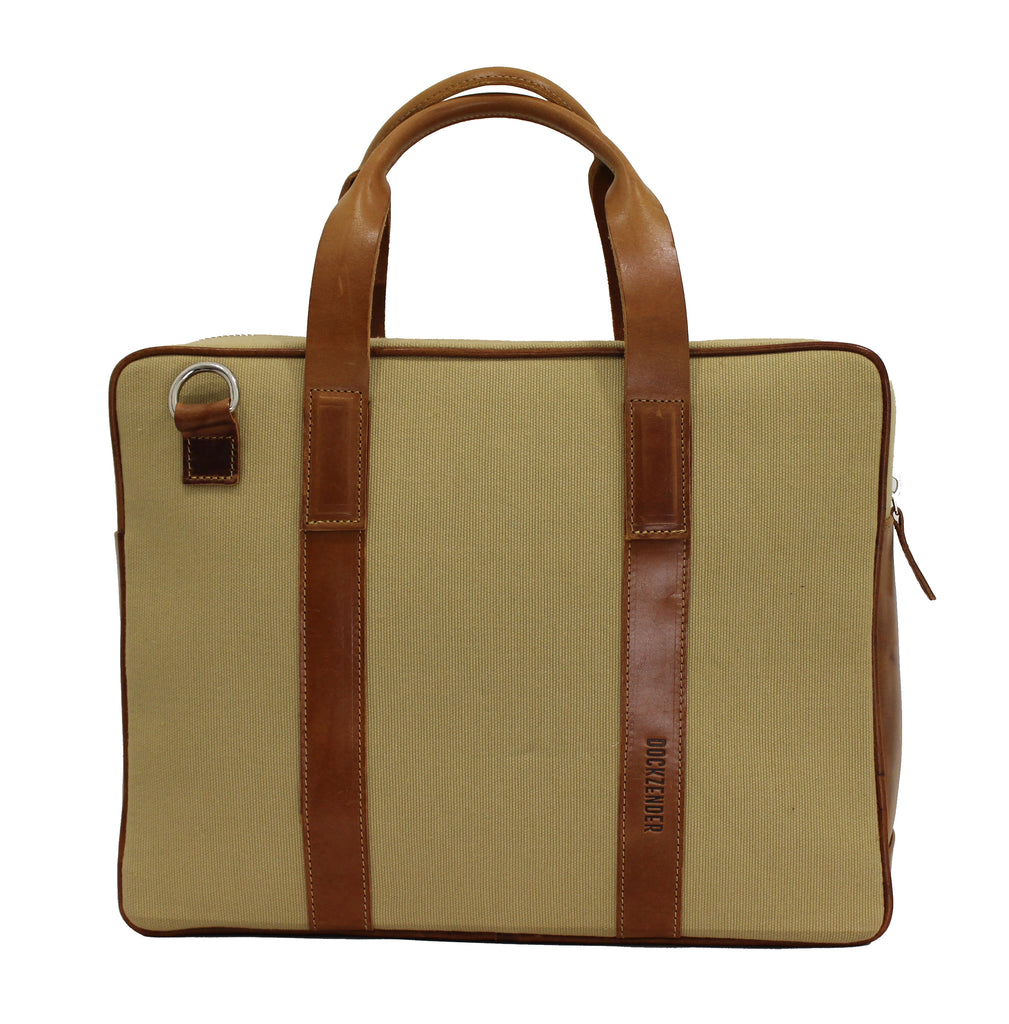 Briefcase One - Desert Khaki