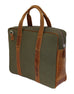 Briefcase One - Olive Military Green