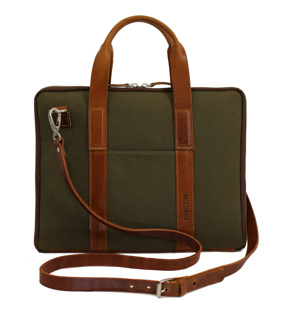 Laptop Case One - Olive Military Green