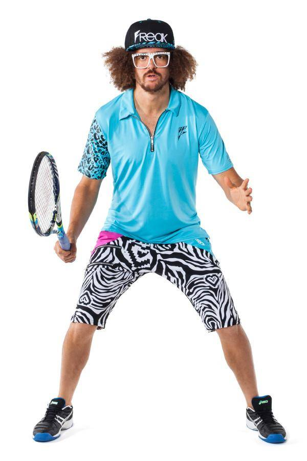 Athletic Polo Solids - Party Rock Clothing REDFOO LMFAO