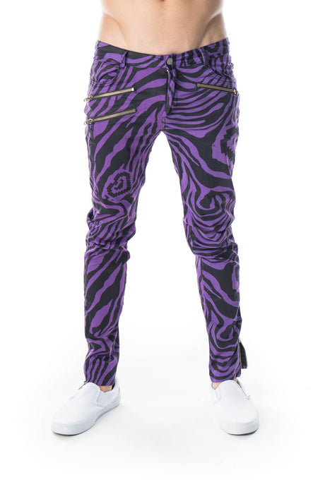 Zebra Pants - Party Rock Clothing REDFOO LMFAO