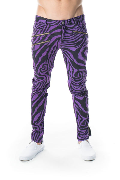 Zebra Pants - Party Rock Clothing