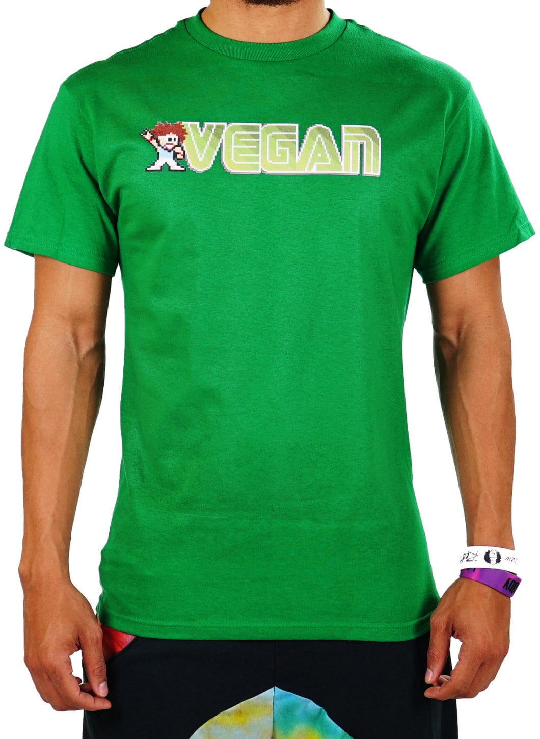 Vegan Man Tee - Party Rock Clothing REDFOO LMFAO