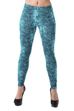 Women's Snakeskin Leggings - Party Rock Clothing REDFOO LMFAO