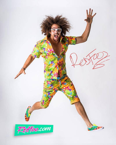 Redfoo Autographed Photo - Party Rock Clothing REDFOO LMFAO