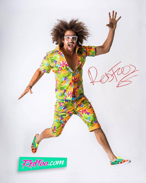 Redfoo Autographed Photo - Party Rock Clothing