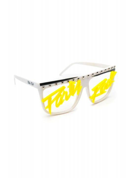 Party Rock Words Glasses - Party Rock Clothing REDFOO LMFAO
