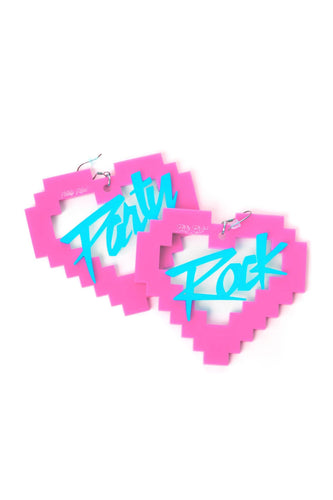 Party Rock La La La Earrings - Party Rock Clothing REDFOO LMFAO