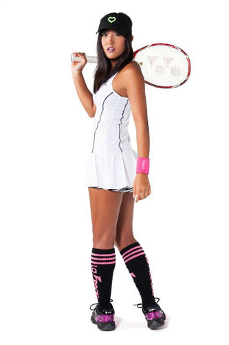 Tennis Dress - La Freak - Party Rock Clothing REDFOO LMFAO