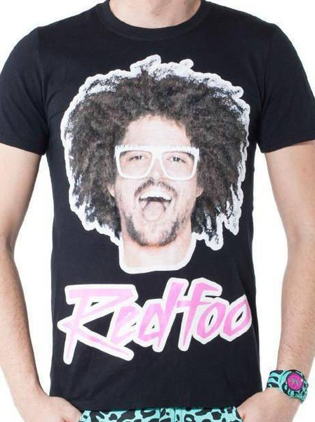 Redfoo Picture Tee - Party Rock Clothing REDFOO LMFAO