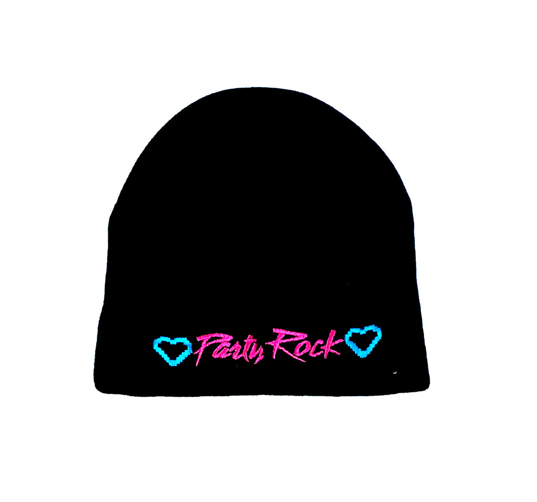 Party Rock Beanie - Party Rock Clothing REDFOO LMFAO