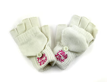 Party Rock Fingerless Gloves w/ Mitten Cover - Party Rock Clothing REDFOO LMFAO