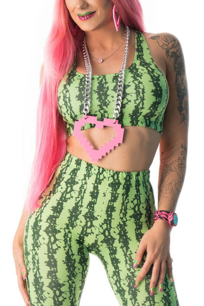 Watermelon Girl Costume - Party Rock Clothing REDFOO LMFAO