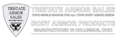 TRISTATE ARMOR SALES BODY ARMOR PLATES SHIELDS BALLISTIC BULLET PROOF BULLET RESISTANCE SOFT BODY ARMOR