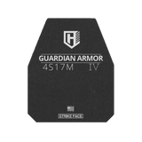 3 WEEK LEAD TIME  ORDER NOW! 10X12  Guardian 4s17m SHOOTER CUT MULTI CURVE Rifle Armor, Level IV Stand Alone
