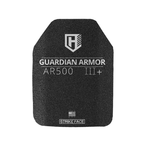 I HAVE 5 IN STOCK & READY TO SHIP SAPI MEDIUM Guardian AR500 Rhino eXtreme spall coated  Rifle Armor, Level III+ Stand Alone SAPI
