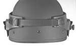 Striker Level II Ballistic Visor with band adjustable strap