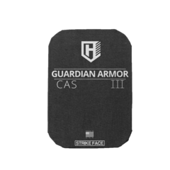 PROTECTIVE ARMOR INSERT LEVEL III RIFLE ROUNDS