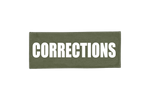 CORRECTIONS ID PLACARD