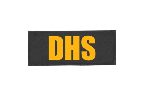 DHS ID PLACARD