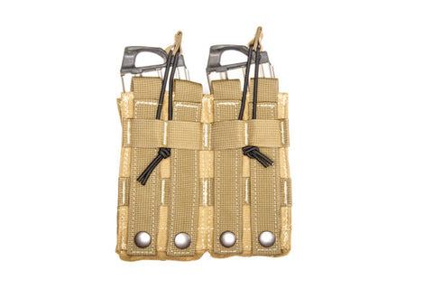 Scorpion Double Open Top M4 Kangaroo Pouch