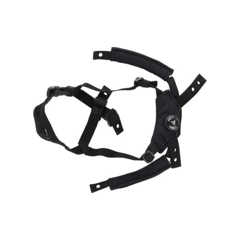STRIKER ratchet dial liner suspension harness system and assembly