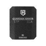 Guardian STP  Rhino eXtreme spall coated  Hard Armor Insert, Level IIIA Stand Alone, NVLAP accredited lab tested to meet NIJ 0108.01 (FLAT)