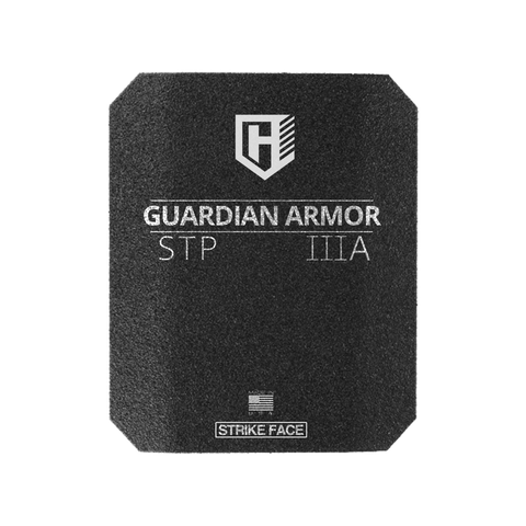 Guardian STP  Rhino eXtreme spall coated  Hard Armor Insert, Level IIIA Stand Alone, NVLAP accredited lab tested to meet NIJ 0108.01 SAPI