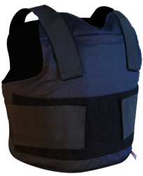 TRISTATE ARMOR SALES LEVEL II CONCEALABLE PACKAGE #2 WITH ONE CARRIER & SPECIAL THREAT TRAUMA PAD