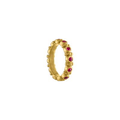 Ruby Bulla Aeon Ring