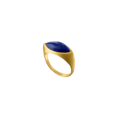 Daphne Lapis Laurel Ring