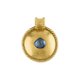 Large Granulated Bulla Pendant