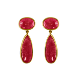 Rhodonite Amphora Earrings