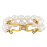 South Sea Pearl Tuba Terminal Bracelet