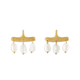 Keshi Pearl Syca Earrings