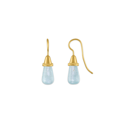 Aquamarine Pileus Earrings
